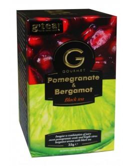 Чай GRACE! Gourmet Pomegranate Bergamot Гранат Бергамот 20 х 1,75 г (5060207697392)