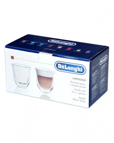 Набор стаканов DeLonghi для каппуччино 2 шт х 190 мл