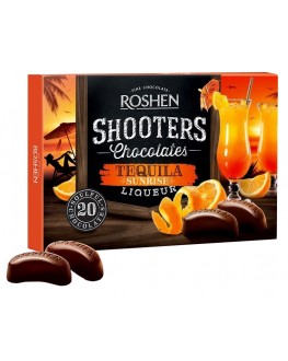 Цукерки ROSHEN Shooters Tequila Текіла Санрайз 150 г в коробці