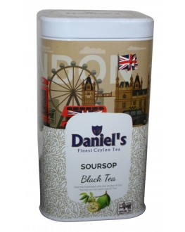 Чай DANIEL'S Soursop Black Tea 100 г ж/б (4796017690575)