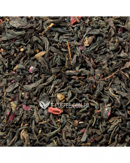 Малина-Акаи черный ароматизированный чай Світ чаю