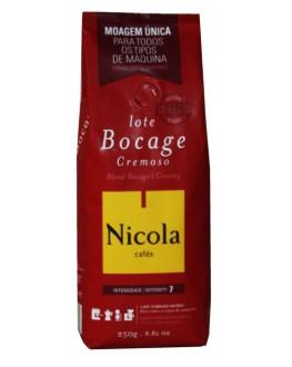 Кофе NICOLA Bocage Cremoso молотый 250 г (5601132003331)