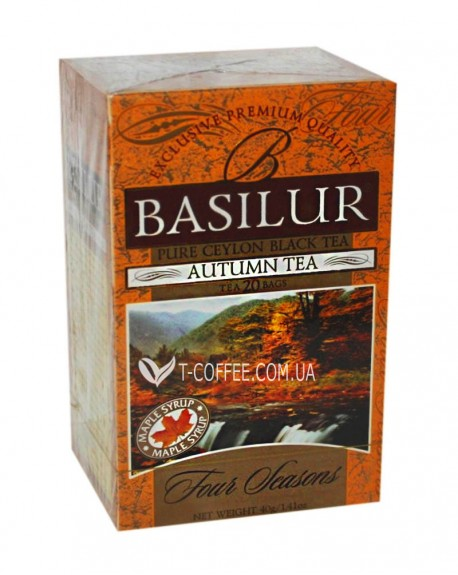Чай BASILUR Autumn Tea Осенний - Времена Года 20 х 1,5 г (4792252915756)
