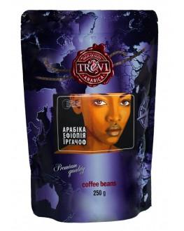 Кава TREVI Арабіка Ефіопія Іргачов зернова 250 г (4820140050811)
