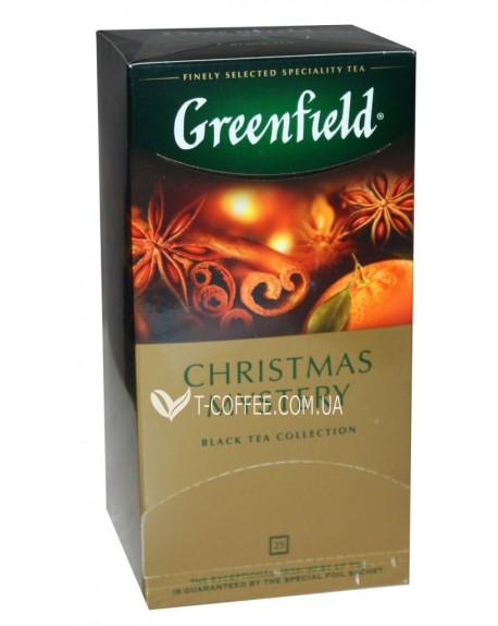 Чай Greenfield Christmas Mystery Черный со Специями 25 х 1,5 г (4823096802480)