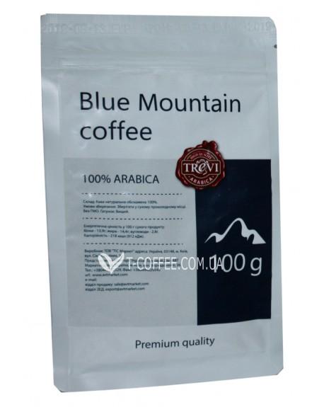 Кофе Trevi Арабика Jamaica Blue Mountain Ямайка Блю Маунтин зерновой 100 г (4820140050927)