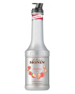 Фруктове пюре MONIN Strawberry Полуниця 1 л