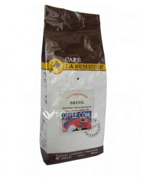 Кофе La Semeuse Sul De Minas Bresil зерновой 250 г