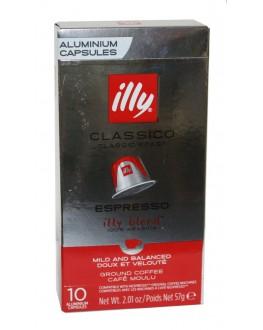Кава ILLY Nespresso Classico в капсулах 10 х 5,7 г (8003753158556)