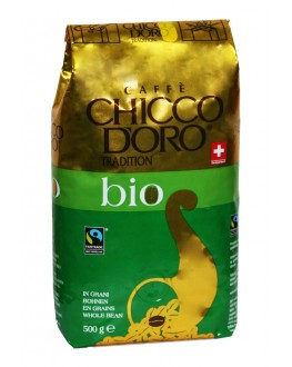 Кава CHICCO D'ORO Tradition Bio зернова 500 г (7610899110808)