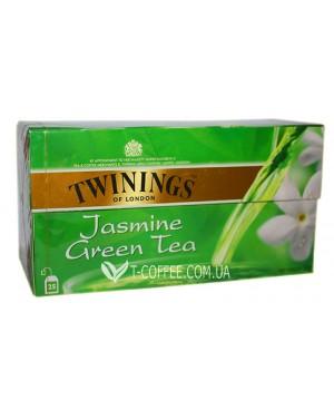 Чай TWININGS Green Tea Jasmine Зеленый Жасмин 25 х 1,8 г (070177173166)
