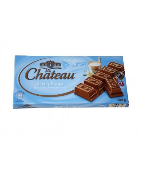 Шоколад Chateau Alpen Sahne Альпийский Молочный 200 г