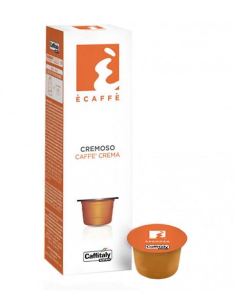 Кофе Ecaffe Cremoso в капсулах 10 х 8 г