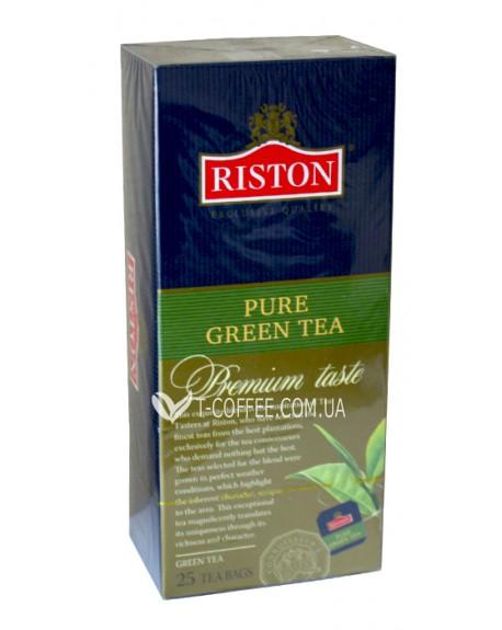 Чай Riston Pure Green Tea - Ристон Зеленый чай 25 х 2 г