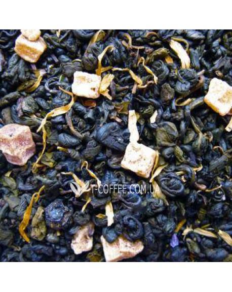 Ночь Клеопатры зеленый ароматизированный чай Країна Чаювання 100 г ф/п