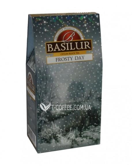 Чай BASILUR Frosty Day Морозный День - Морозная 100 г к/п (4792252928121)