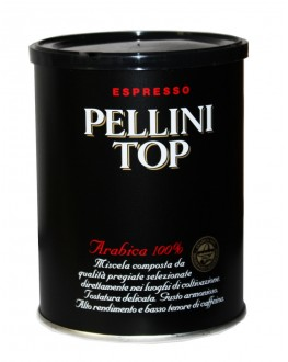 Кава PELLINI Top Arabica 100% мелена 250 г ж/б (8001685093228)