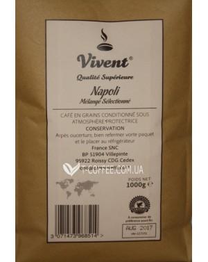 Кофе Vivent Napoli зерновой 1 кг (3071473968514)