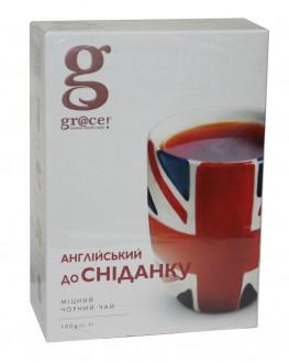 Чай GRACE! English Breakfast Англійський до Сніданку - Бестселер 100 г к/п (5060207692618)