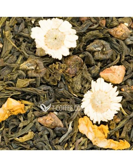 Райский Сад зеленый ароматизированный чай Країна Чаювання 100 г ф/п