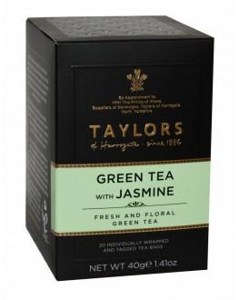 Чай TAYLORS Green Tea Jasmine Зеленый Жасмин 20 х 2,5 г (615357118966)