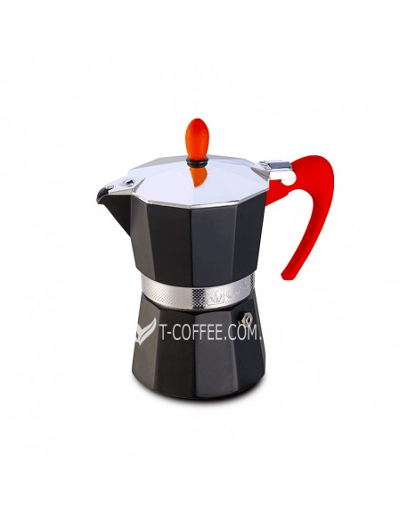 Кофеварка гейзерная GAT NERISSIMA Red 3 чашки