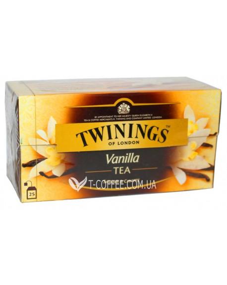 Чай TWININGS Vanilla Ваниль 25 х 2 г (070177068011)