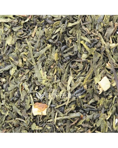 Японская Липа зеленый ароматизированный чай Світ чаю
