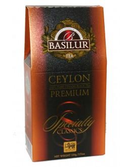 Чай BASILUR Ceylon Premium Цейлонський Преміум - Обрана Класика 100 г к/п (4792252920699)