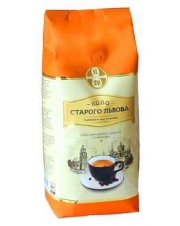 Кофе КАВА СТАРОГО ЛЬВОВА Сніданкова зерновой 1 кг (4820000371605)