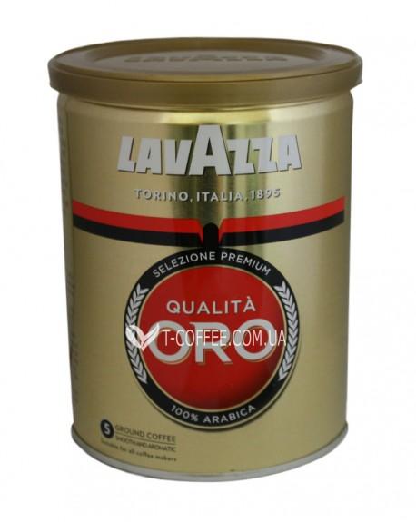 Кофе Lavazza Qualita Oro молотый 250 г ж/б (8000070020580)