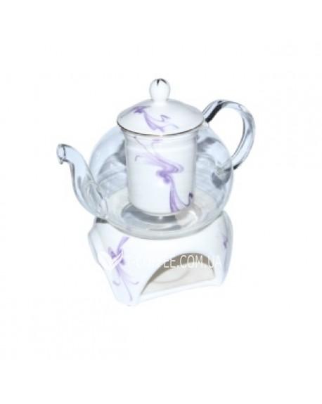 Чайник стеклянный Тень 800 мл