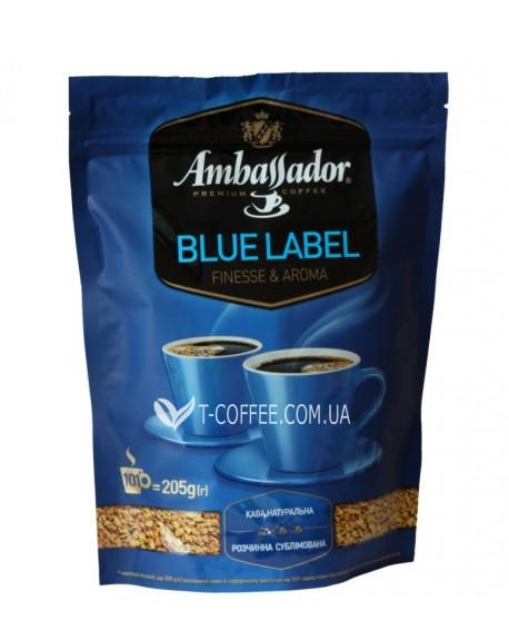 Растворимый кофе Амбассадор Блу Лейбл фото