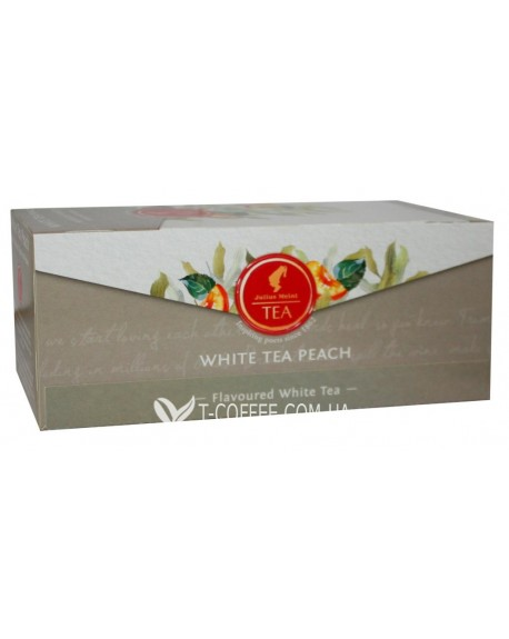 Чай Julius Meinl White Tea Peach Персик 25 x 1,75 г (9000403885984)
