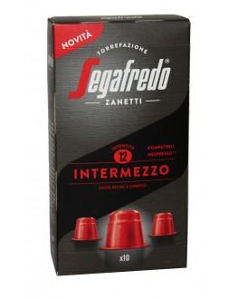 Кофе SEGAFREDO Nespresso Intermezzo в капсулах 10 х 5,1 г (8003410243526)