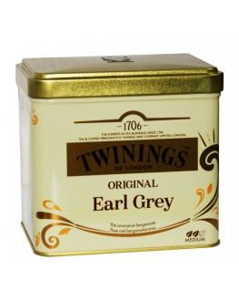 Чай TWININGS Earl Grey Original Ерл Грей 200 г ж/б (5055953902494)
