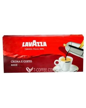 Кофе Lavazza Crema e Gusto Ricco молотый 250 г (внутренний рынок) (8000070040045)