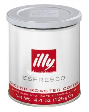 Кофе illy Classico нормальной обжарки 125 г молотый ж/б (8003753900704)