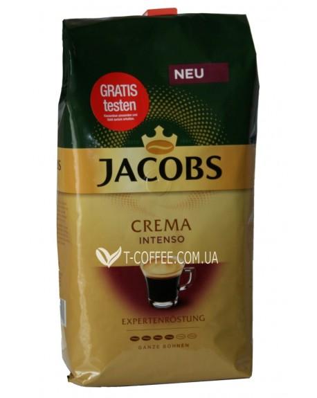 Кофе Jacobs Crema Intenso зерновой 1 кг (8711000669570)