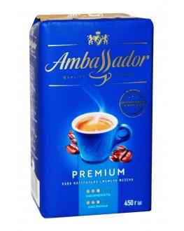 Кава AMBASSADOR Premium мелена 450 г (8720254065229)