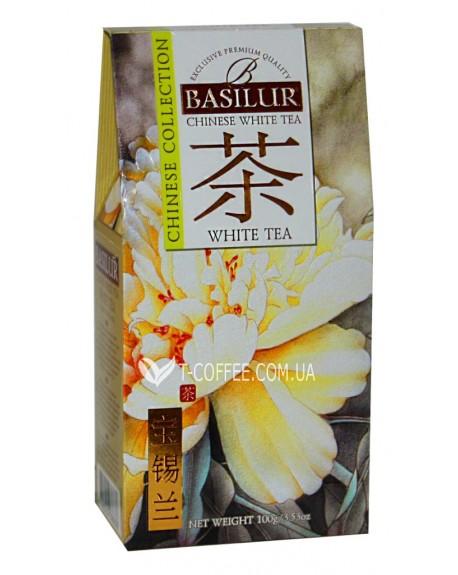 Чай BASILUR White Tea Белый Чай - Китайская 100 г к/п (4792252936836)