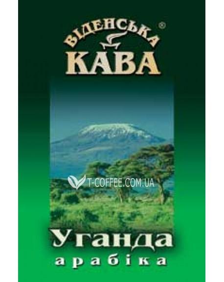 Кофе Віденська кава Арабика Уганда Бугиссу АА 500 г зерновой