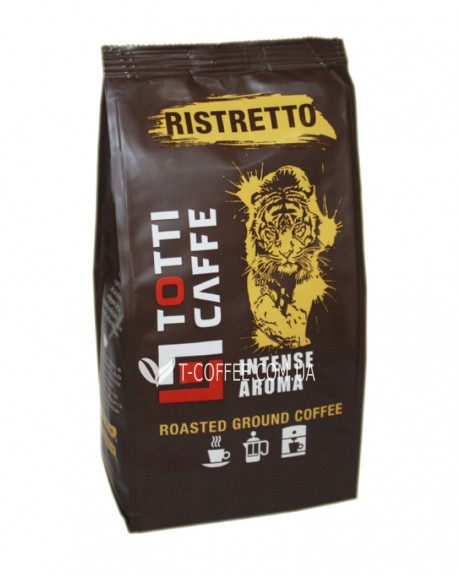 Кофе Roberto Totti Ristretto 250 г молотый