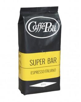 Кофе POLI Super Bar зерновой 1 кг (8019650000102)