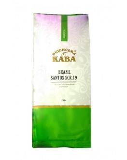 Кофе ВІДЕНСЬКА КАВА Арабика Бразилия Сантос 19 зерновой 250 г