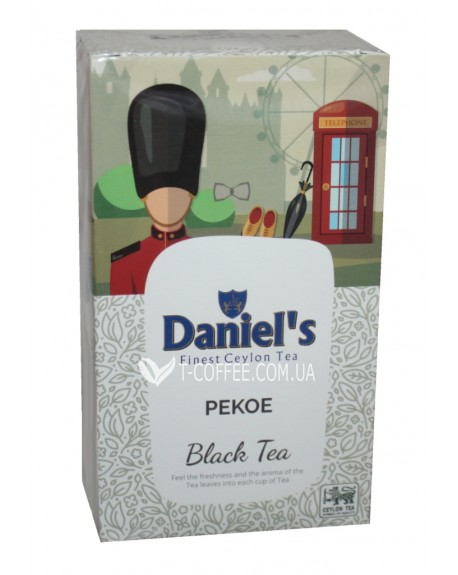 Чай Daniel's PEKOE Black Tea 100 г ж/б (4796017690506)