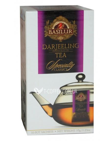 Чай BASILUR Darjeeling Дарджилинг - Избранная Классика 10 х 4 г (4792252932333)