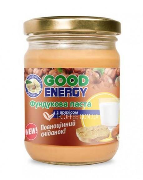 """Фундуковая паста с арахисом ТМ """"Good Energy"""" 460 г"""