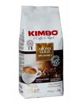 Кава KIMBO Aroma Gold 100% Arabica зернова 1 кг (8002200102180)