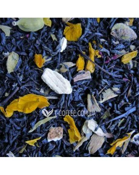 За Двумя Зайцами черный ароматизированный чай Чайна Країна